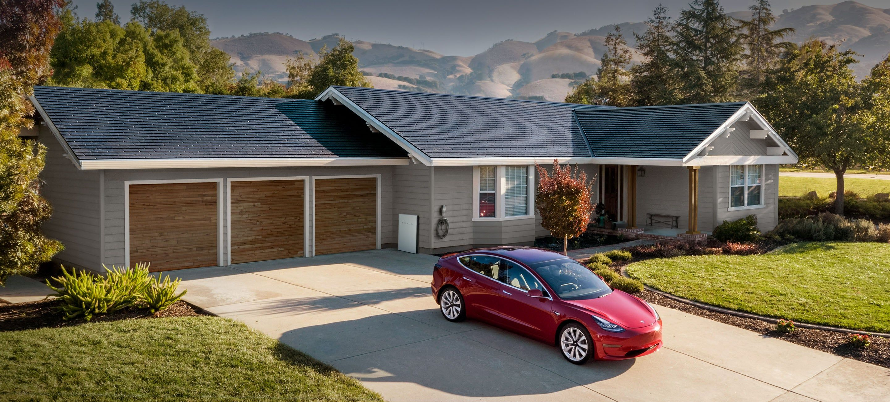 Why Tesla S Solar Roof Is A Bargain 53 Of The Price Of A Roof Electricity Cleantechnica Analysis Tesla Solar Roof Solar Panels Roof Solar Shingles