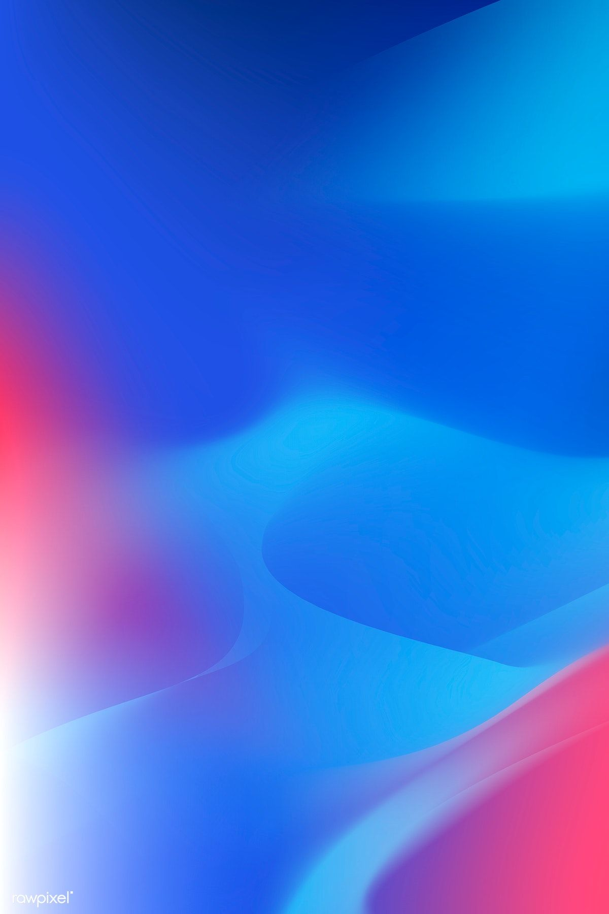 Blue Abstract Background Design Vector Free Image By Rawpixel