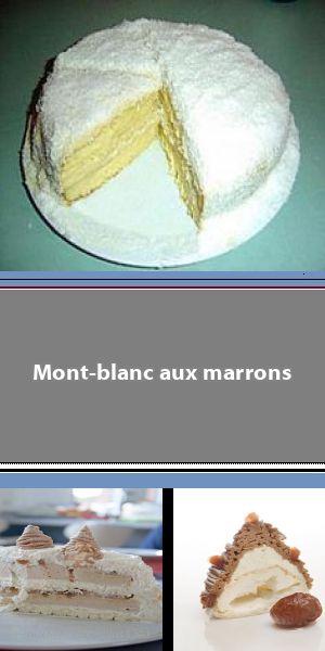 Mont Blanc : un classique et ses variations autour du marron Je vous propose une ascension du Mont Blanc de la Pâtisserie des Rêves, un pic de gourmandise dessiné par Philippe Conticini. #montblancrecette