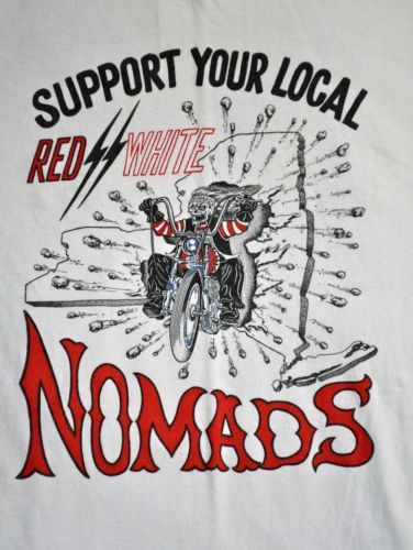 Details about super rare HELLS ANGELS New York NOMADS XL