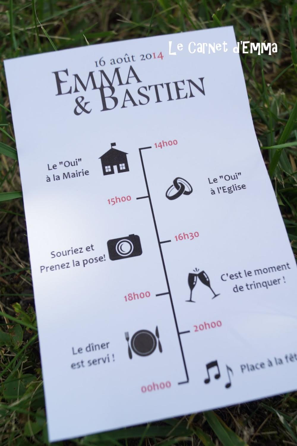 { Joli Jour #14 } Les sacs invités - Le Carnet d'Emma