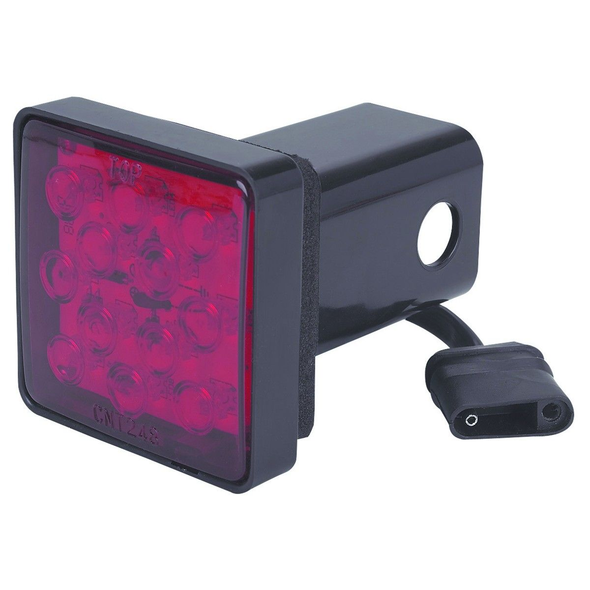 Trailer Hitch Cover With 12 Led Brake Light Trailers