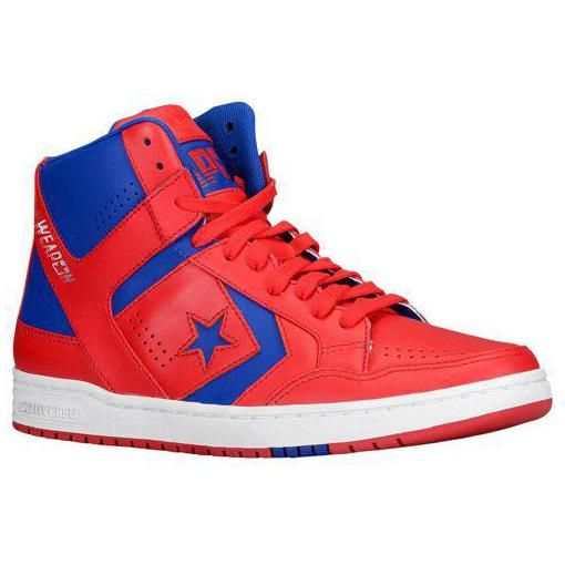 Converse Weapon 86 Basketball Shoes Red/Blue/White for Men