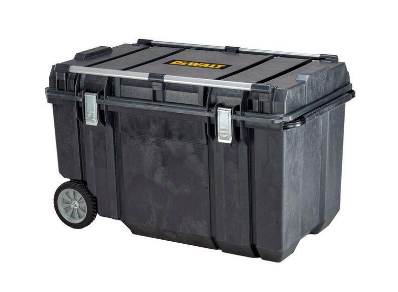 dewalt 38 inch mobile tough wheeled tool box chest storage portable ...