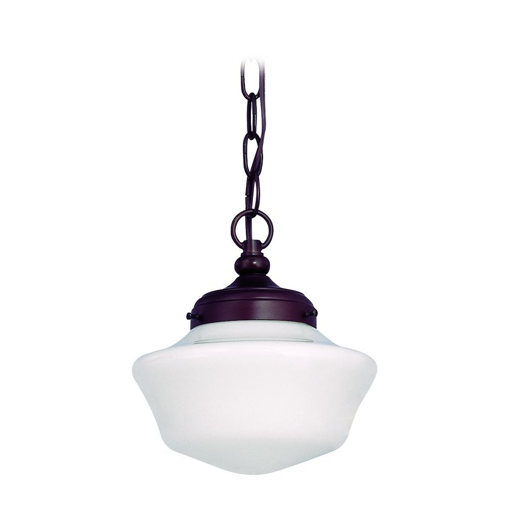 Design Classics 8 Inch Schoolhouse Mini Pendant Chain Hung Elliot Mini Pendant Globe Lighting Mini Pendant Lights