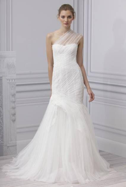 38e2524944 Vestido de novia 2013 a un hombro