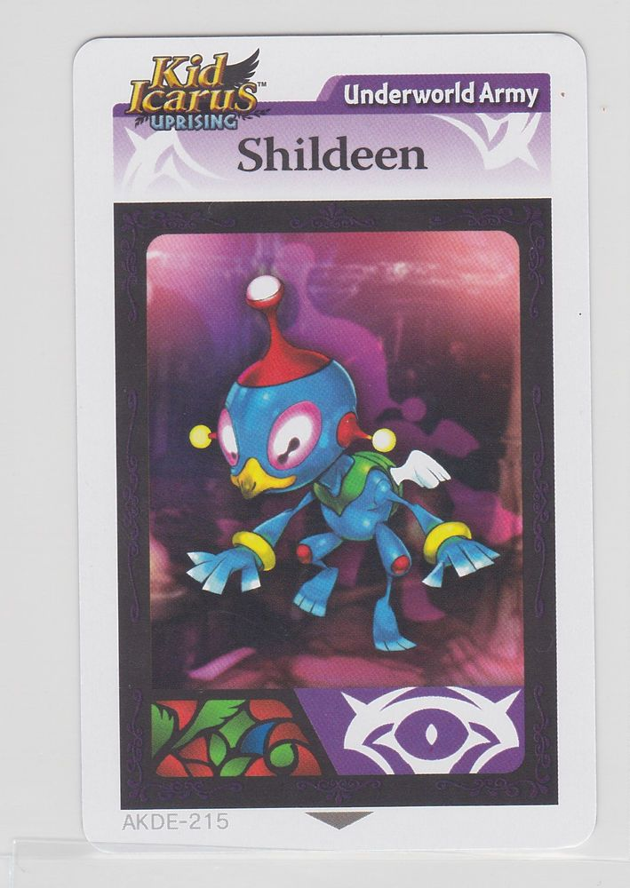 Kid Icarus AR Card Shildeen