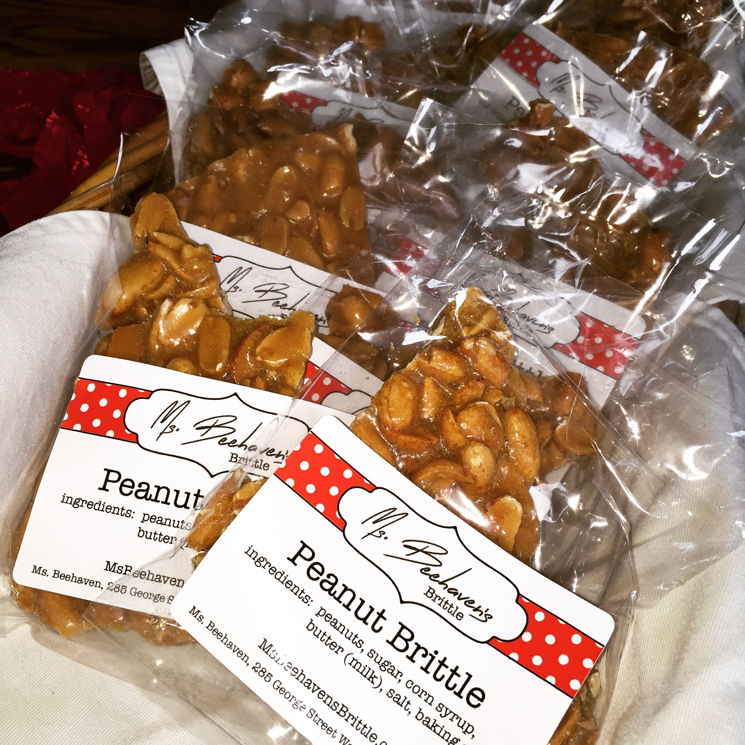 Packaged and ready to sell. It's so cute. | Peanut brittle ...