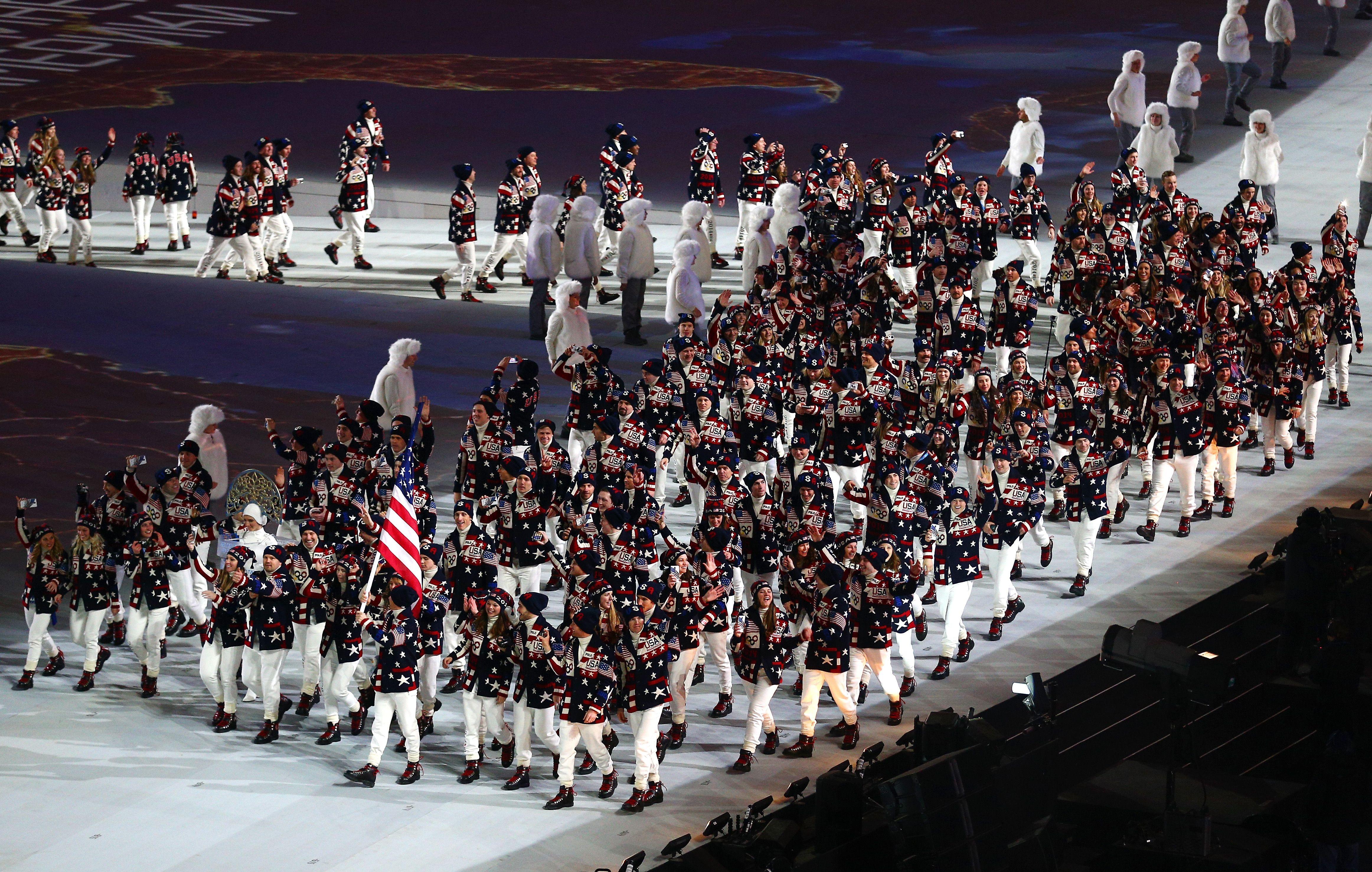 Team Usa Sochi