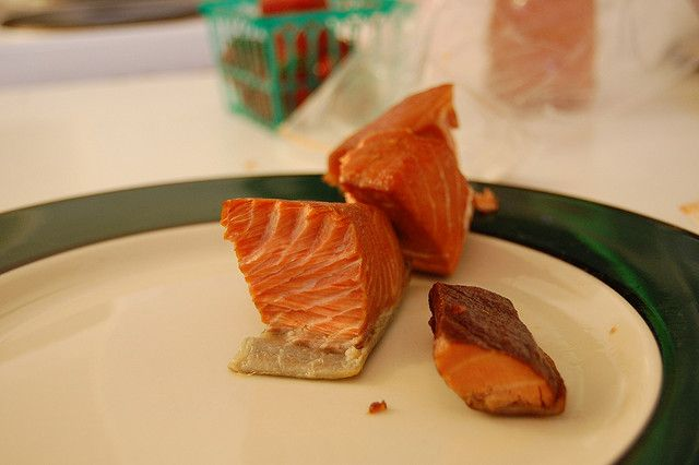 Smoked Salmon - one of my son's favorites.
