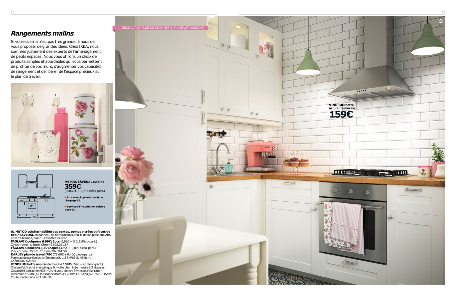 Hotte Vindrum Brochure Cuisine Metod 2016 Appartement Pinterest
