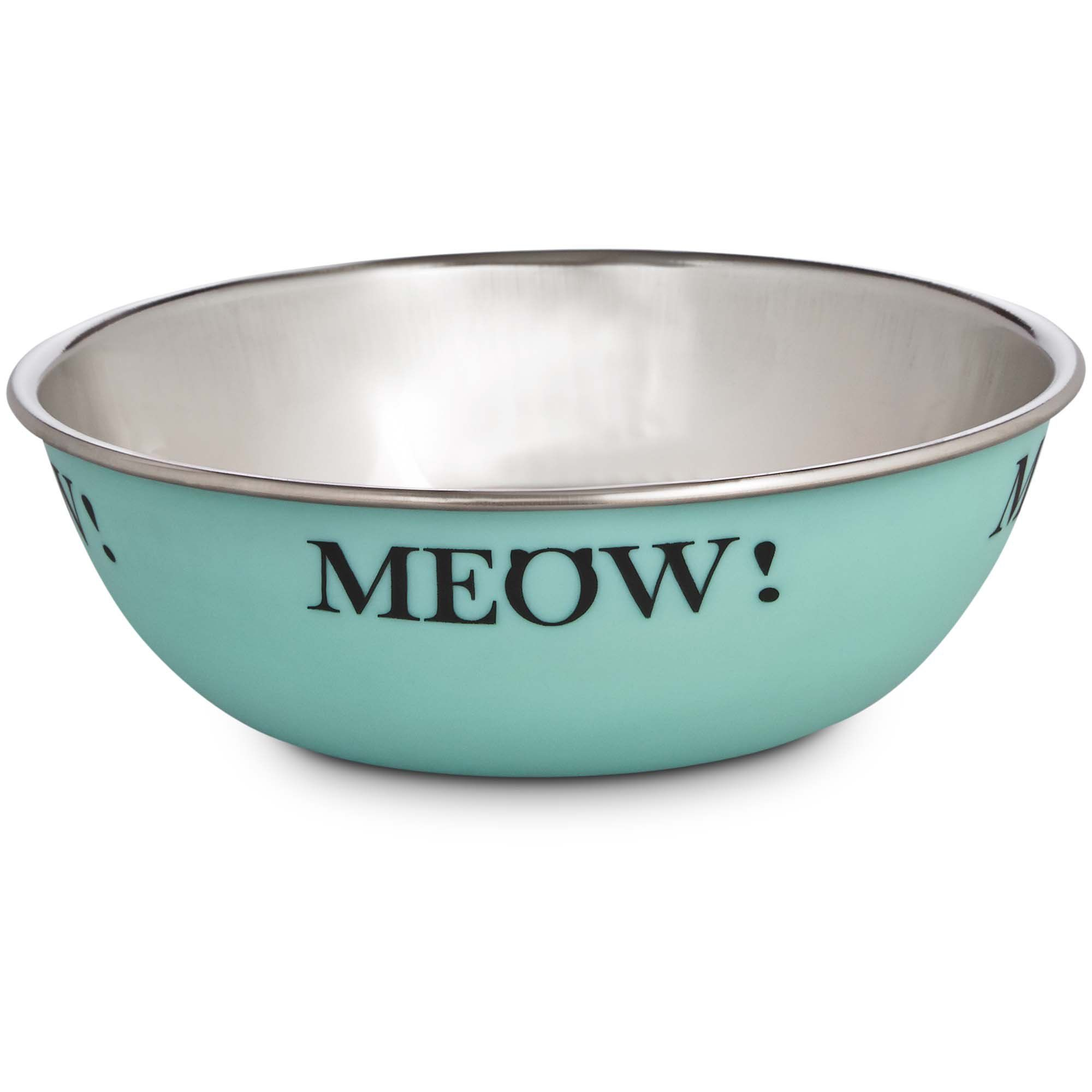 Harmony Mint Stainless Steel Cat Bowl 1 Cup 1 Fz Cat Bowls Bowl Petco