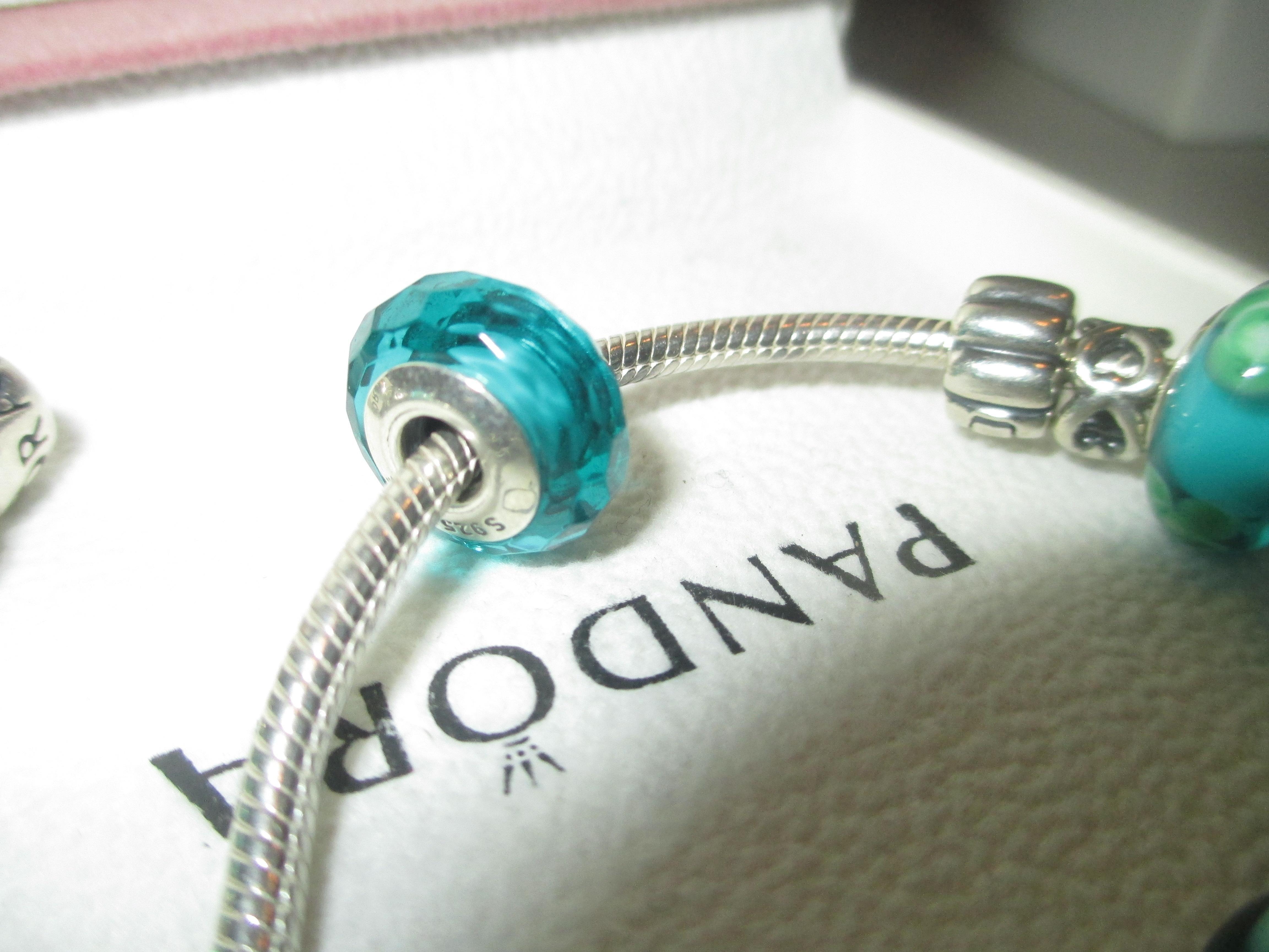 3879e8e79 Murano Glass Beads, Pandora Charms, Teal, Charmed, Bracelets, Silver,  Jewelry