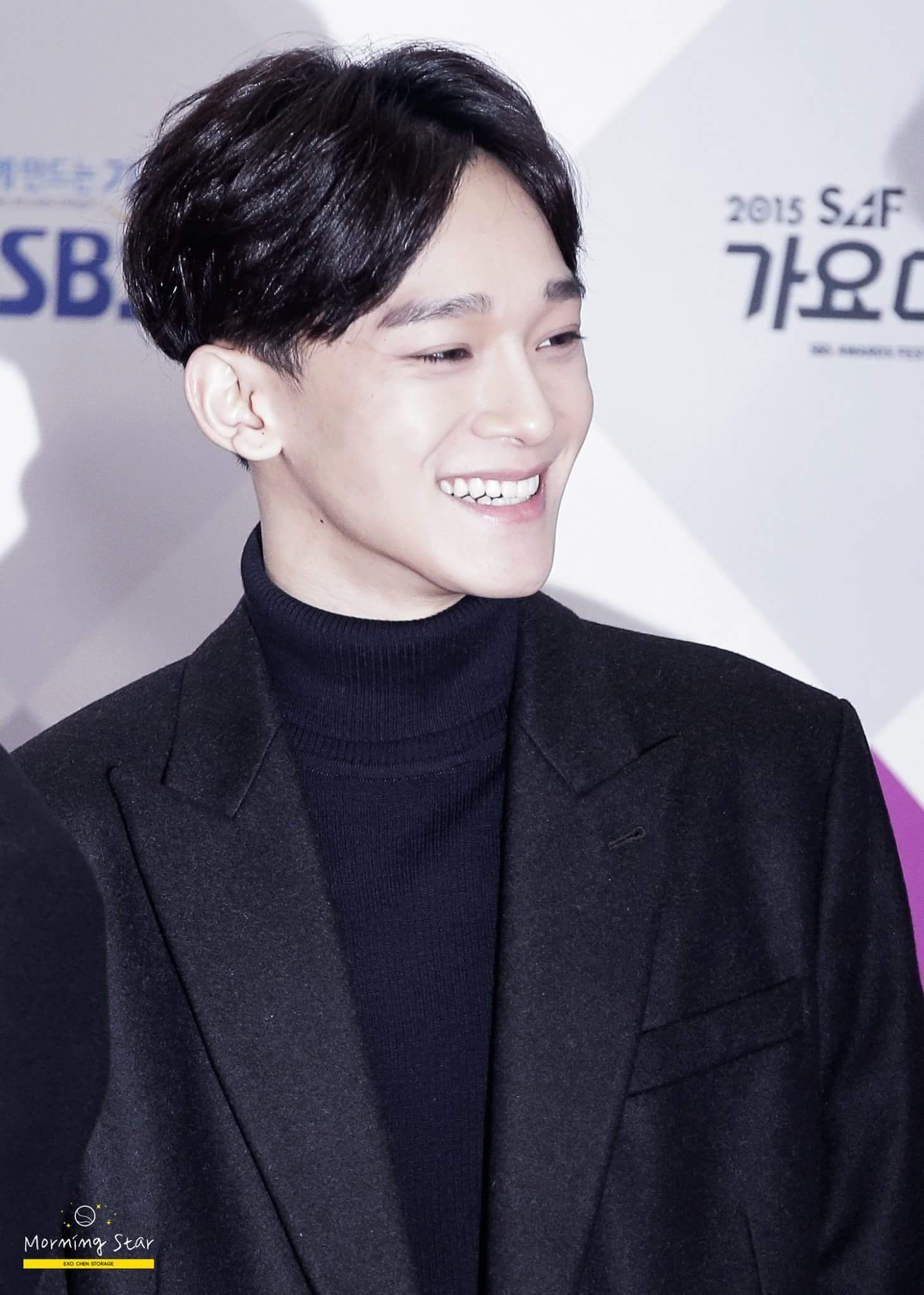 #chen smiling :))