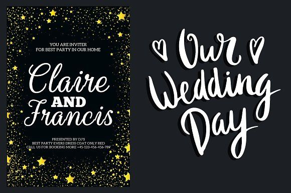 Gold wedding invitation suite by business templates on gold wedding invitation suite by business templates on creativemarket stopboris Images