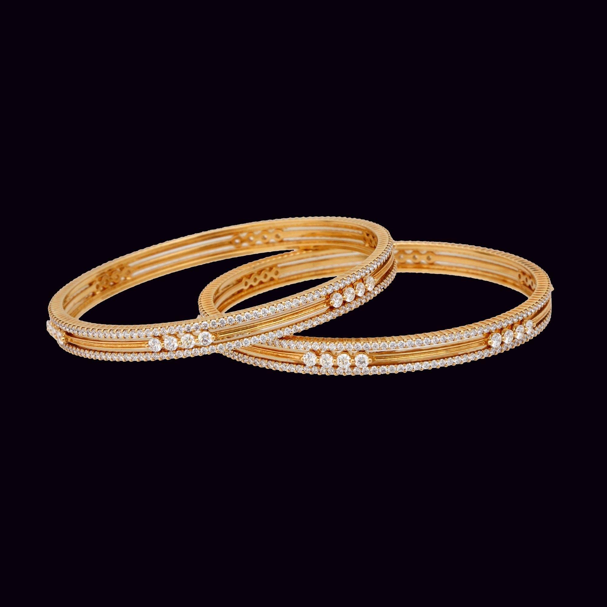 Vummidi bangaru jewellers bangals pinterest bangle diamond