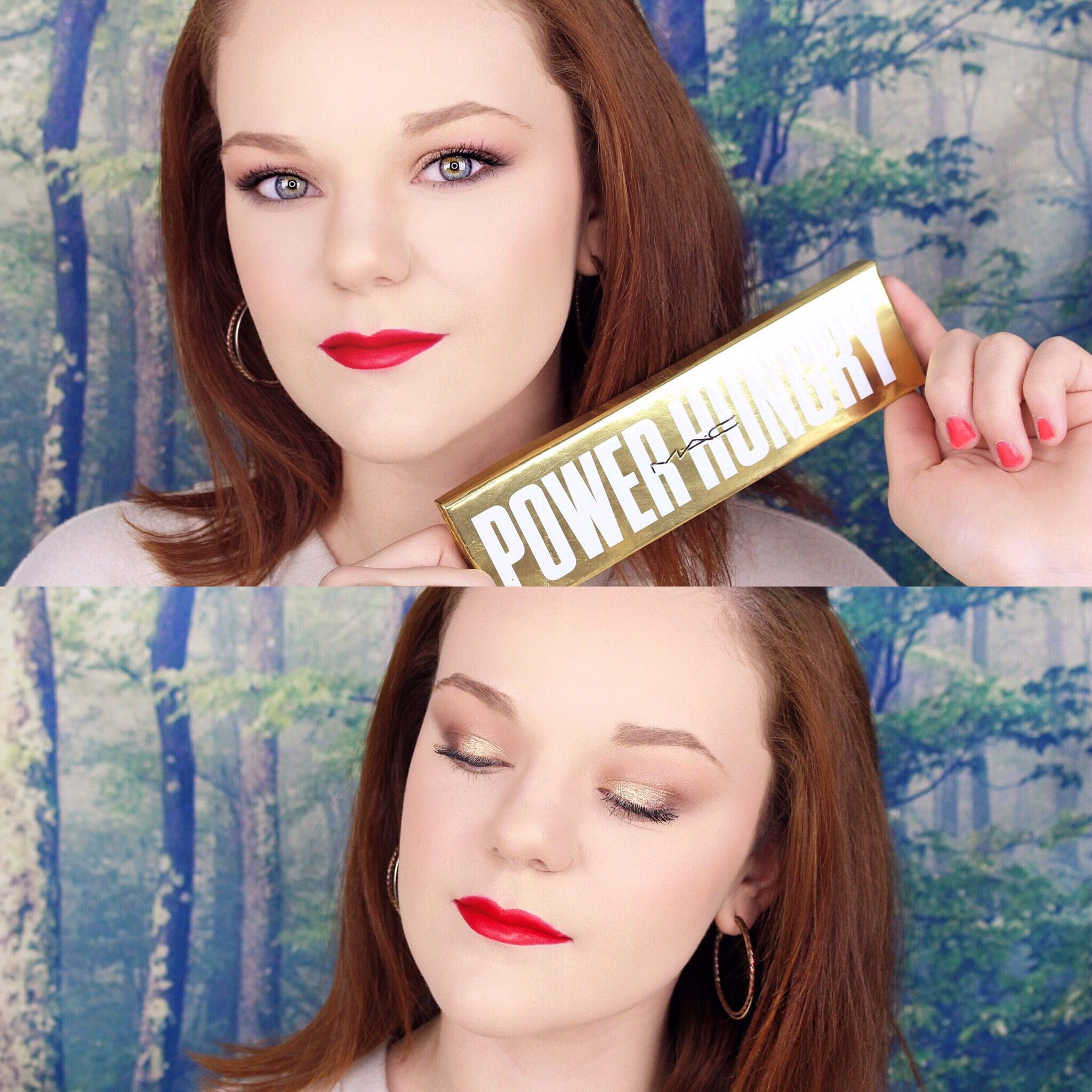 Quick and easy old hollywood glam makeup tutorial featuring mac quick and easy old hollywood glam makeup tutorial featuring mac power hungry baditri Image collections
