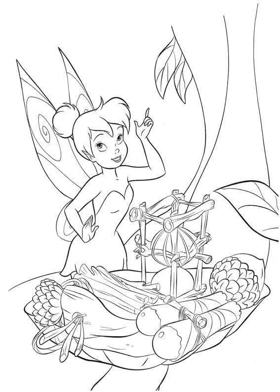 Tinkerbell coloring page | Disney ピーターパン&ティンク | Pinterest ...