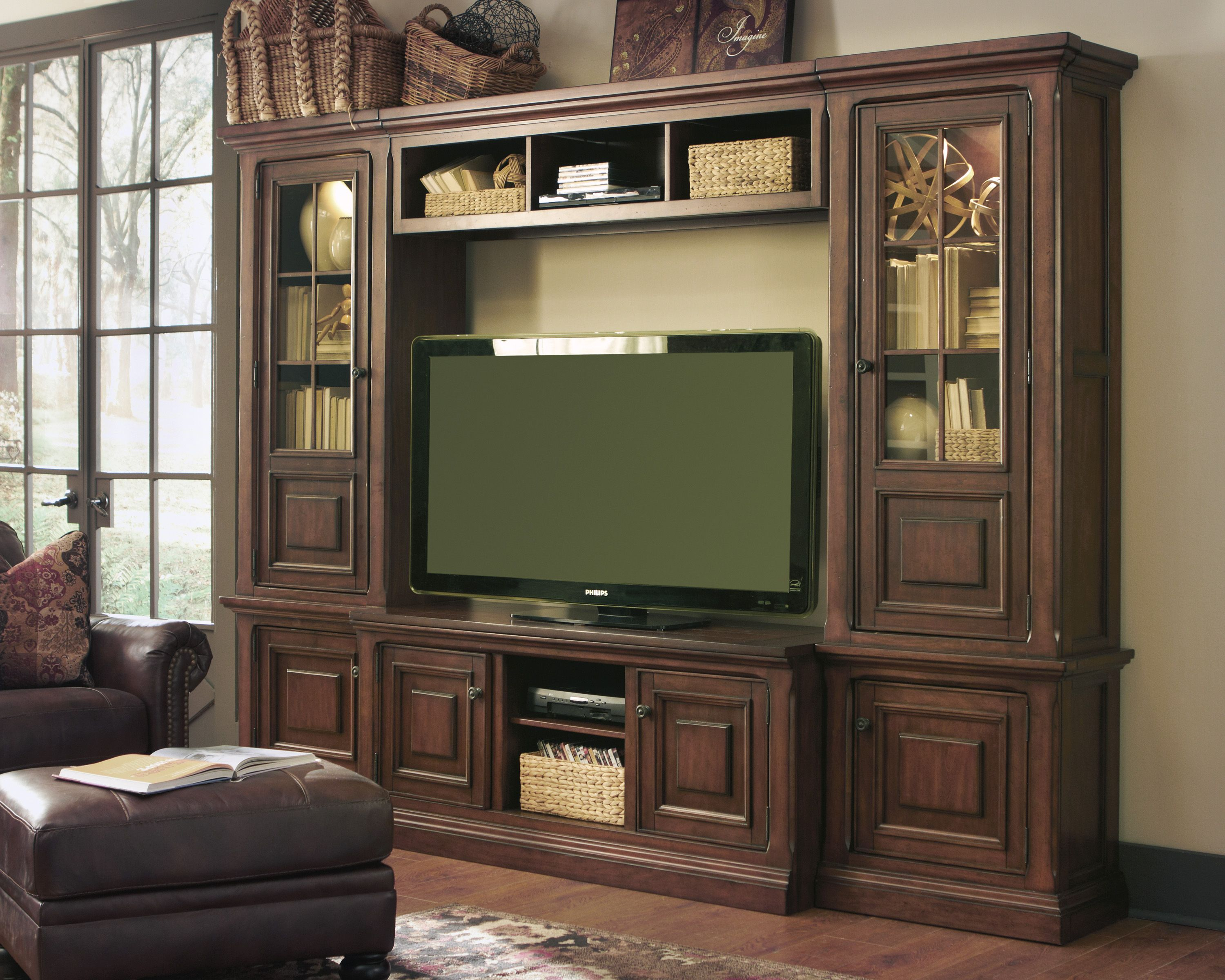 Stalone Large Wall System by Ashley at Crowley Furniture in Kansas ...