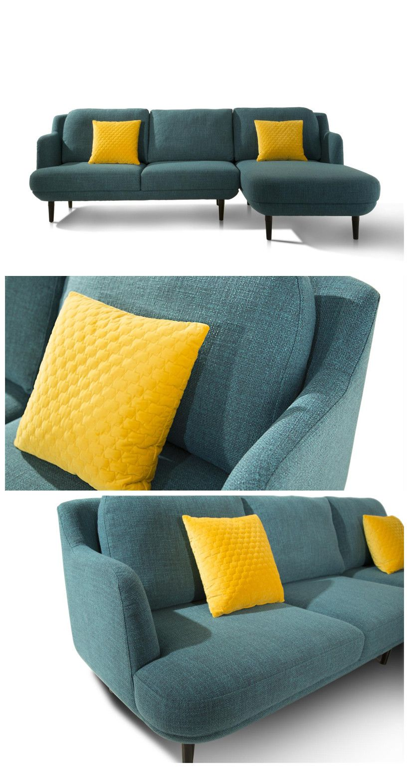 China Supplier Good Quality Small Simple Sectional Sofa