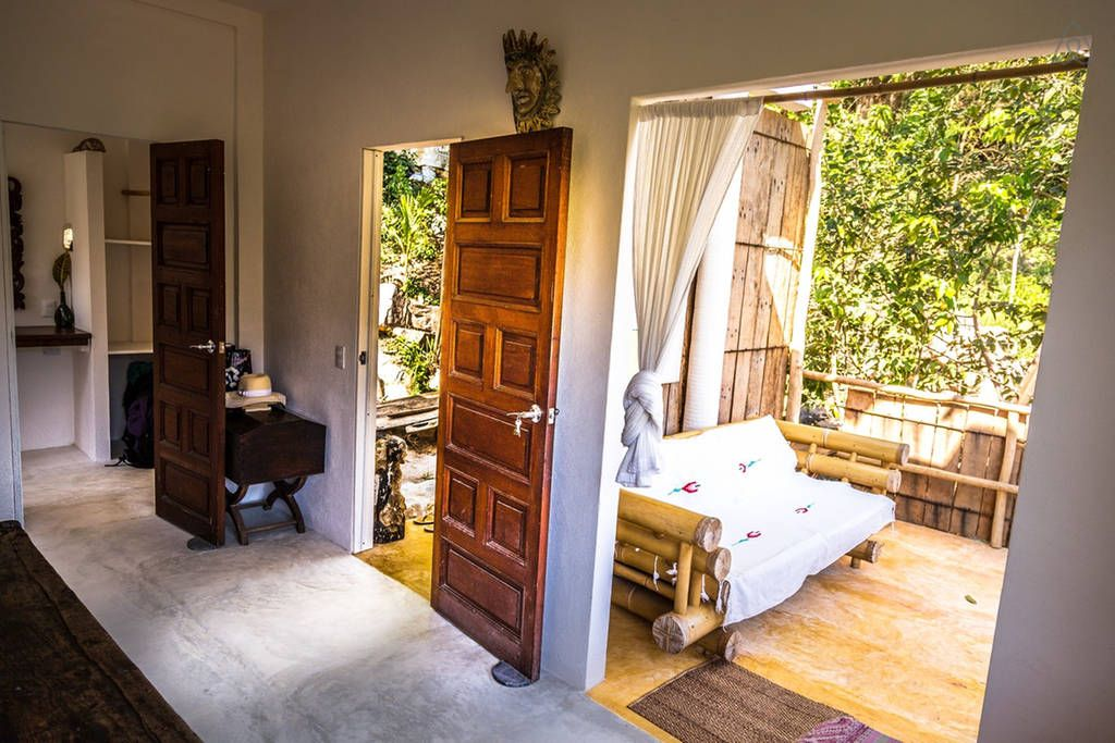 Airbnb Yelapa, Jalisco, Mexico:  VEREDA- Sleep in Art in Paradise-A $95/night - Get $25 credit with Airbnb if you sign up with this link http://www.airbnb.com/c/groberts22