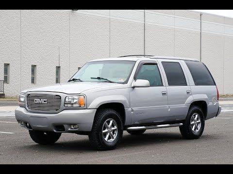2000 Gmc Yukon Denali 4wd Cars Global 1416 Manning Blvd