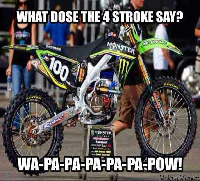 4 Stroke Sound Motocross Dirt Bike Quotes Dirtbikes Atv Motocross