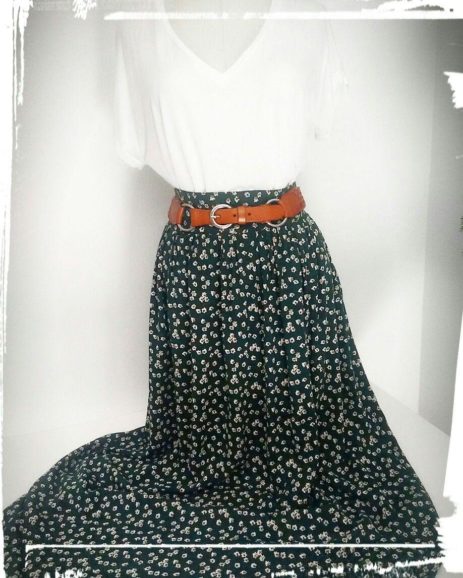 4dd8079cae7494 Comment faire une jupe longue de type bohème ? | livres / books ...