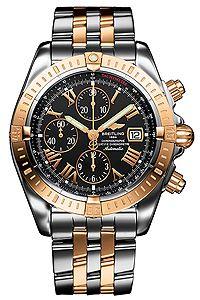 Breitling Chronomat Evolution 2 Tone Solid 18k Rose Gold Stainless Steel Men S Watch C1335611 Breitling Chronomat Evolution Breitling Chronomat Watch Design