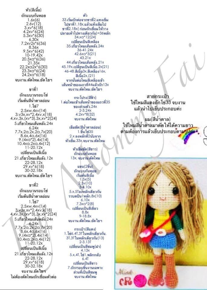 crochet   Amigurumi   Pinterest   Ganchillo, Croché y Muñecos de ...