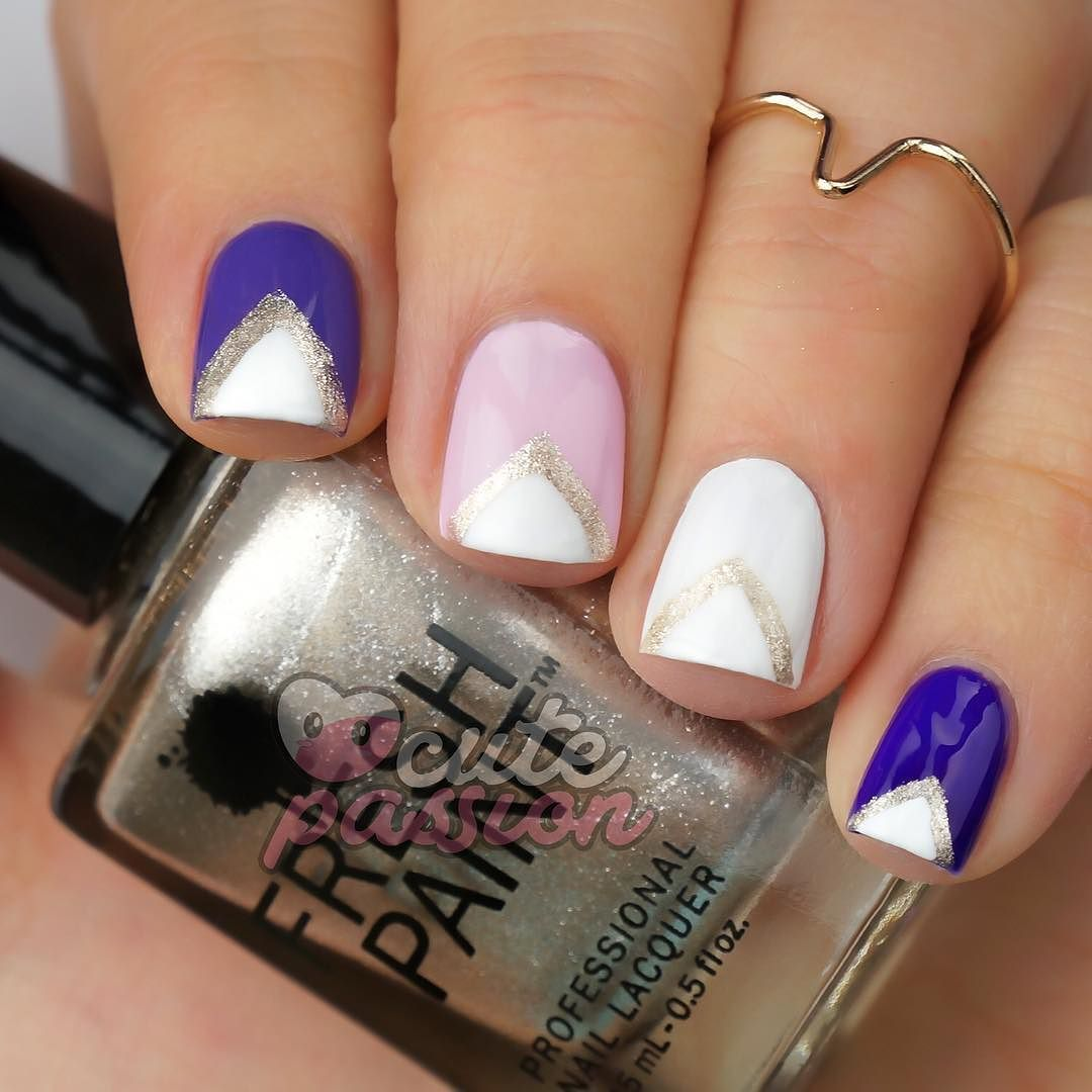 Cute nailsart  #nails #vicsnails #fallnails #nails2015