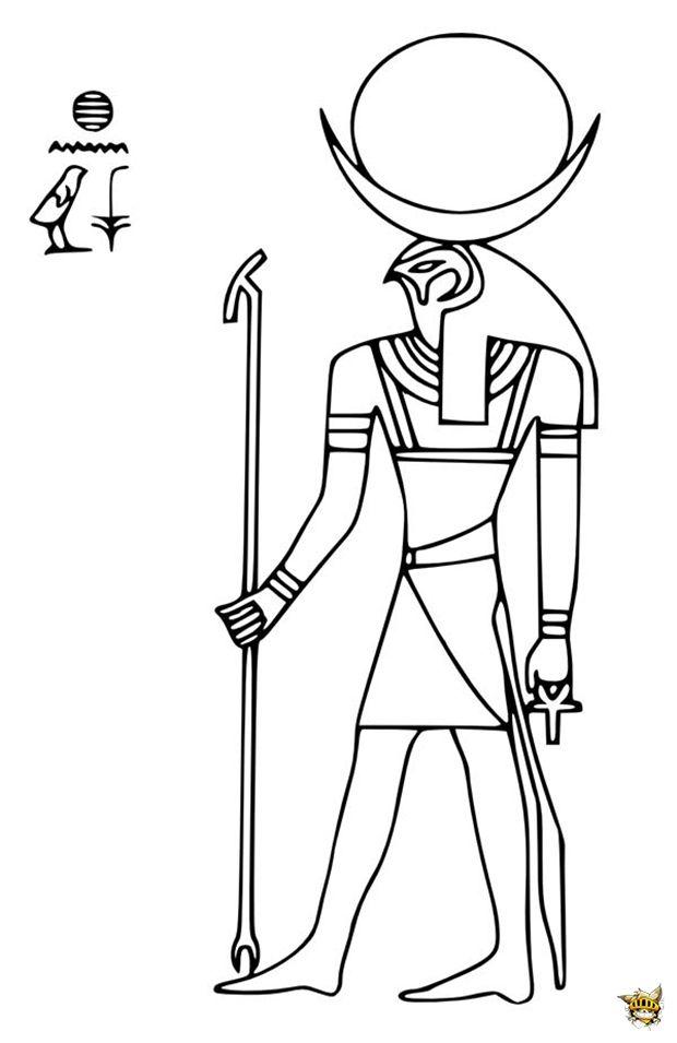 Bien-aimé Le dieu Ra | Egypte | Pinterest | Cycle, École et Le monde QU22