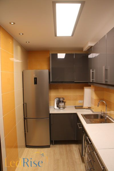 Flat LED light for a kitchen with an airy feel 72W 35400   Shop by application LED Lights