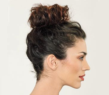 5 Easy Hairstyles | High bun, Top bun and High bun tutorials