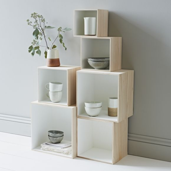 House · Set of 6 Square Box Shelves & Set of 6 Square Box Shelves | Make | Pinterest | Box shelves ...