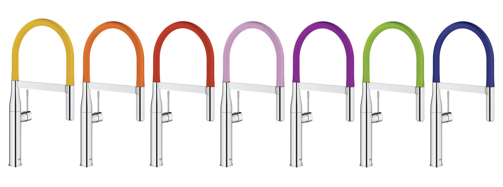 Grohe Launches Colorful Faucet Collection | Kitchen faucets, Faucet ...
