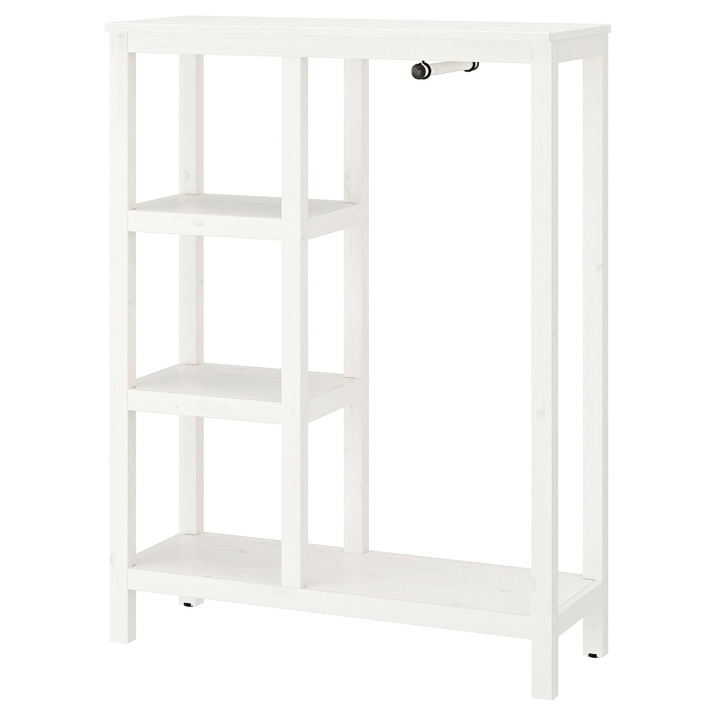 Hemnes Open Wardrobe White Stained Offene Garderobe Hemnes