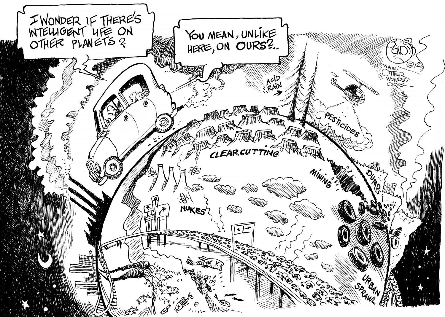 Image result for pollution cartoon personal history english1305 image result for pollution cartoon sciox Gallery