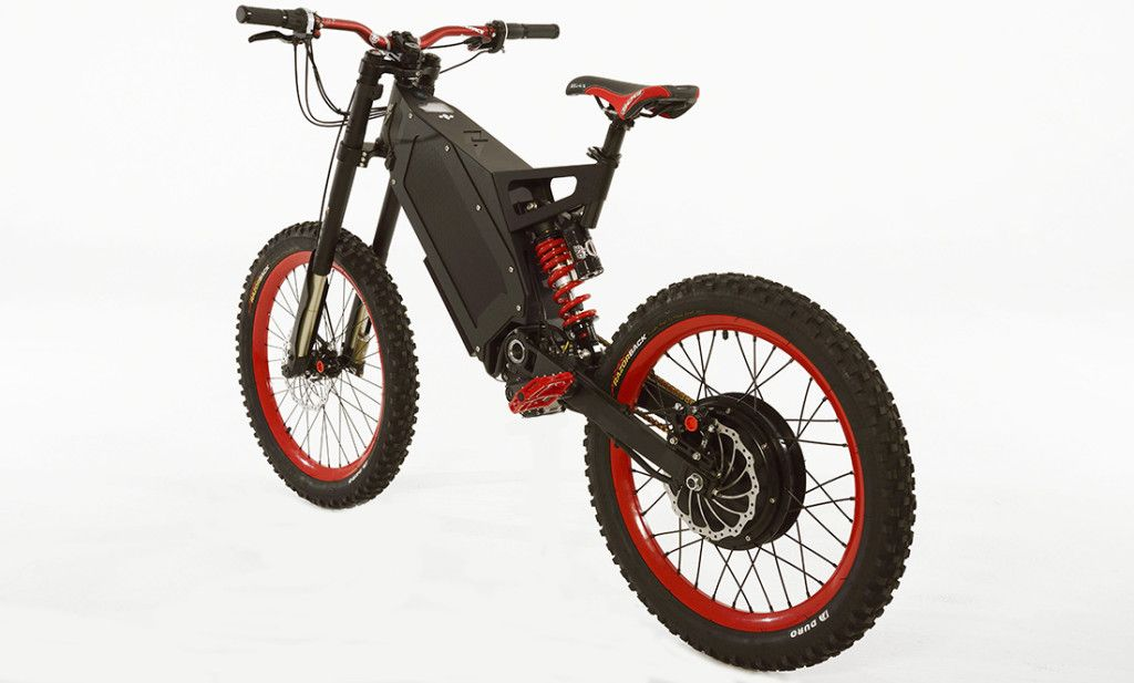 Black And Red Stealth B 52 Bomber Best Electric Bikes Fast