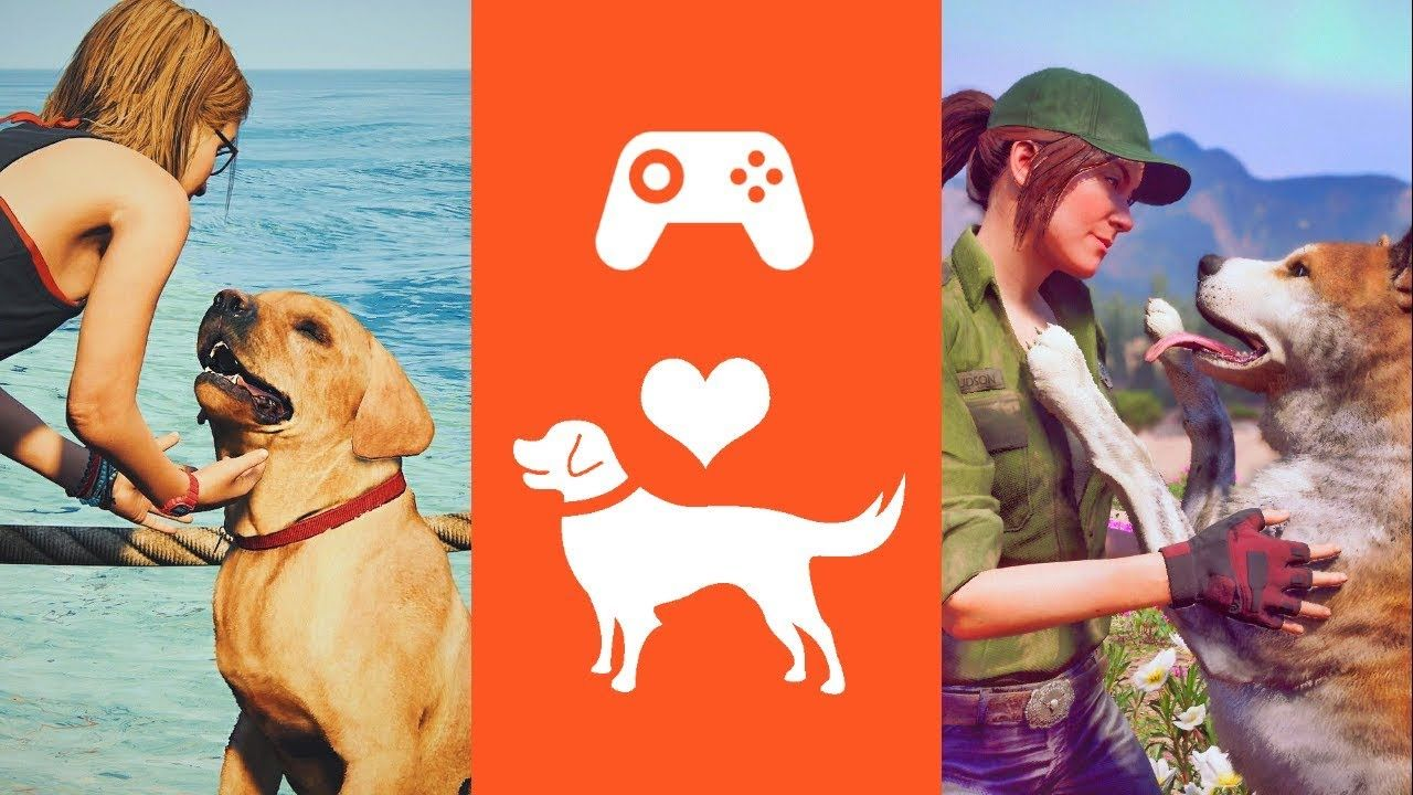 Games Where You Can Pet The Dogs All video games