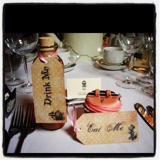 Alice in wonderland wedding favours | PARTIES | Pinterest | Wedding ...