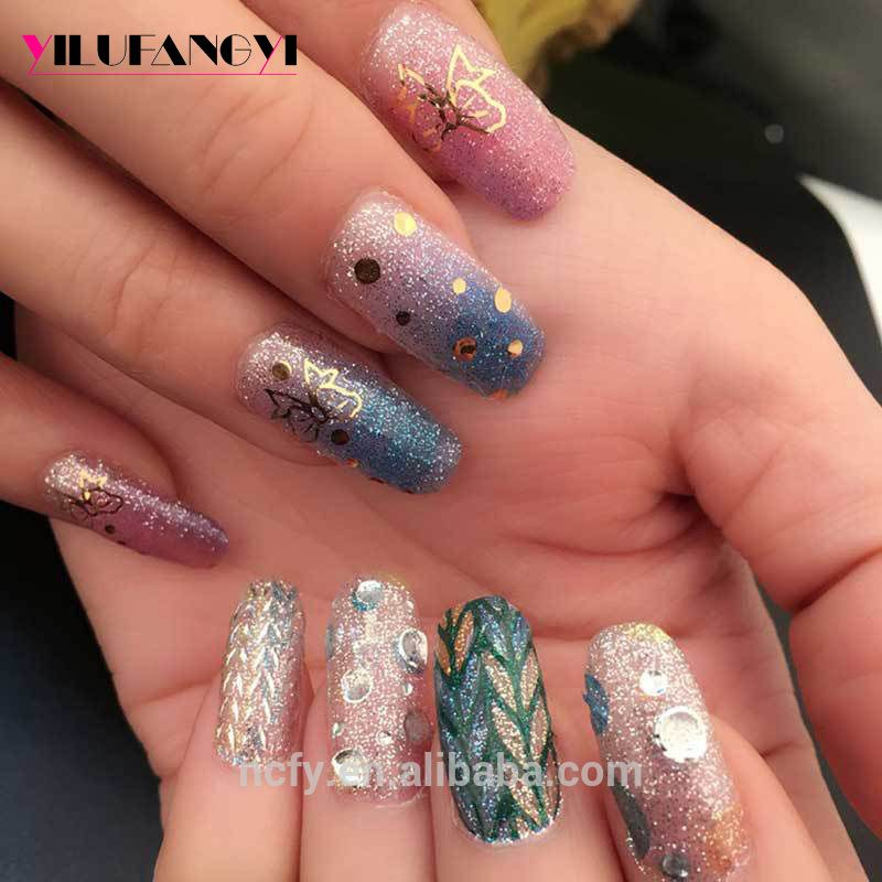 FY080 Nail art 3D custom nail water decals nail stickers with ...