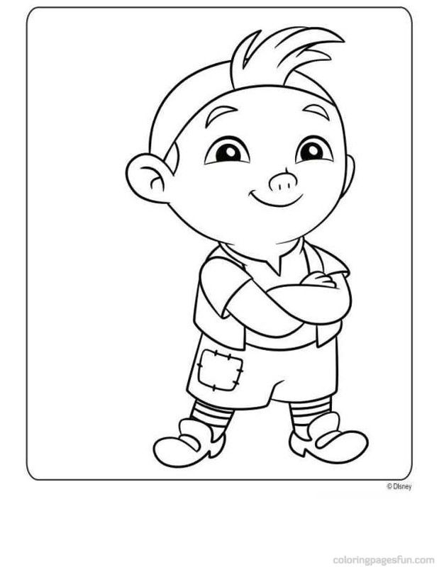 jake and the never land pirates coloring pages printable ...