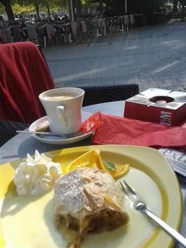 Coffee and Strudel in Hannover!