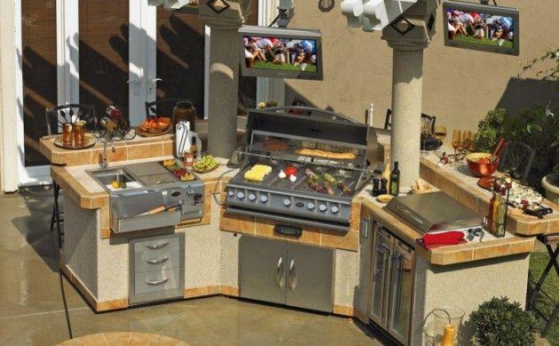 Außenküche selber bauen - 22 gute Ideen und wichtige Tipps | garten ...