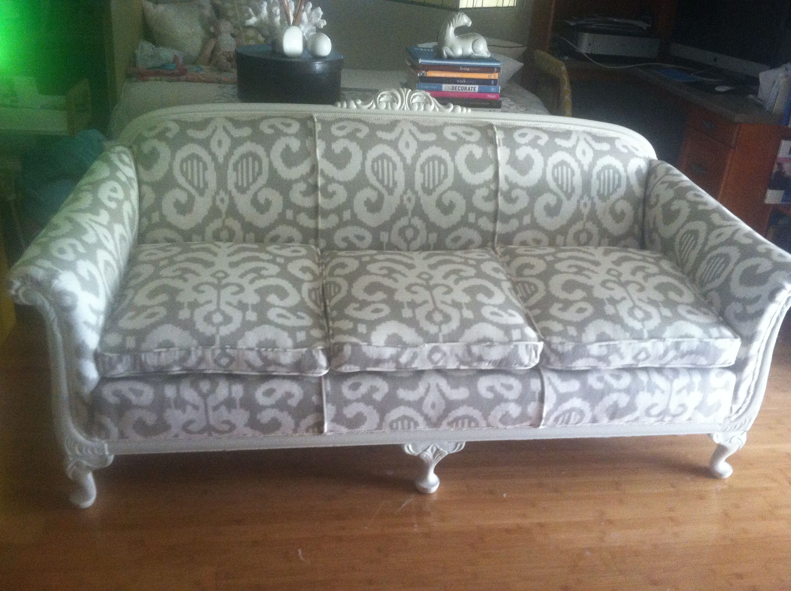 Companies That Reupholster Sofas Sofa Cushion Support Slats Just Finished Reupholstering This 100 Year Old Couch