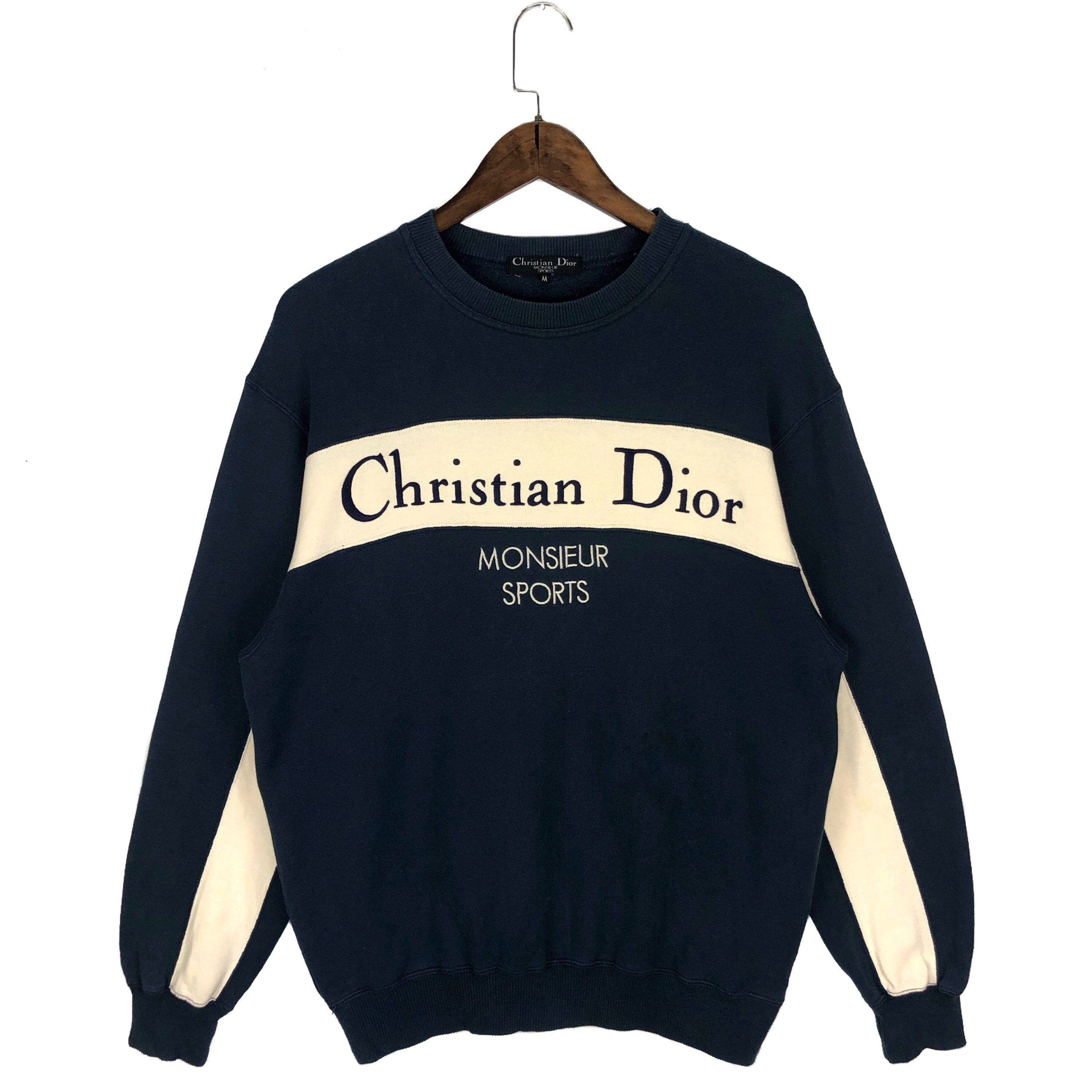 Excited To Share This Item From My Etsy Shop Vintage 90s Christian Dior Mousieur Crewneck Sweatshirt Vintage Crewneck Sweatshirt Sweatshirts Vintage Hoodies [ 3000 x 3000 Pixel ]