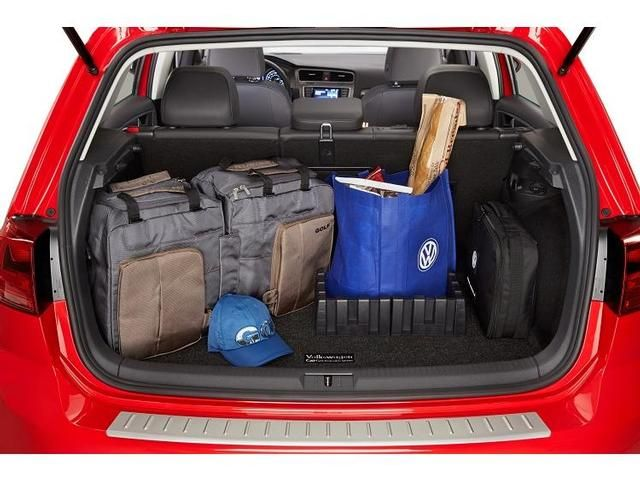 Vw Golf Cargo Mat with Organizing Blocks | Volkswagen Cars Accessories | Pinterest | Organizing ...