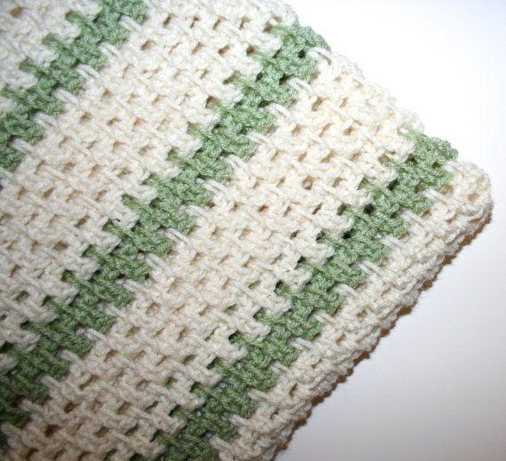 Crochet Blanket Pattern Lap Blanket Throw Afghan Easy Fast