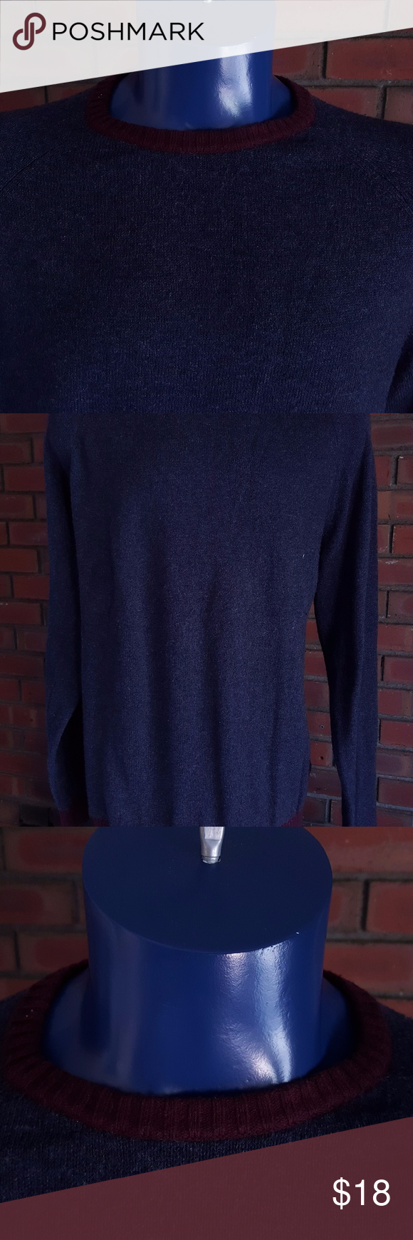 Old Navy Men's Long Sleeve Crewneck Sweater (XXL) | Crewneck ...